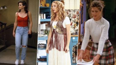 FRIENDS Fashion Is Back! Take Inspiration from Rachel Green, Monica Geller and Phoebe's Wardrobe for Thanksgiving 2019
